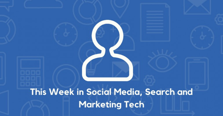 Social Media, search and tech