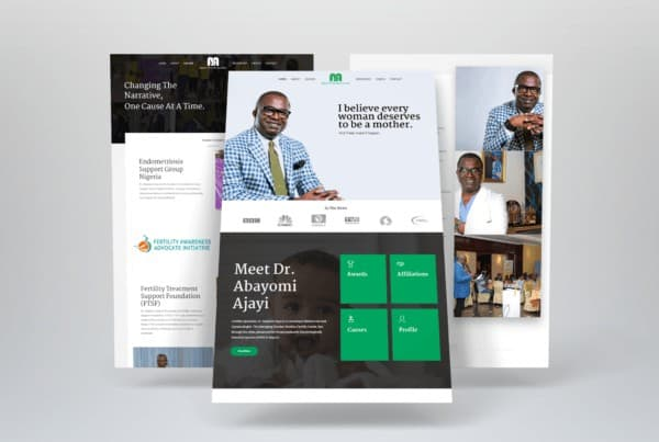 Wow effect communication - Dr. Abayomi ajayi - website design