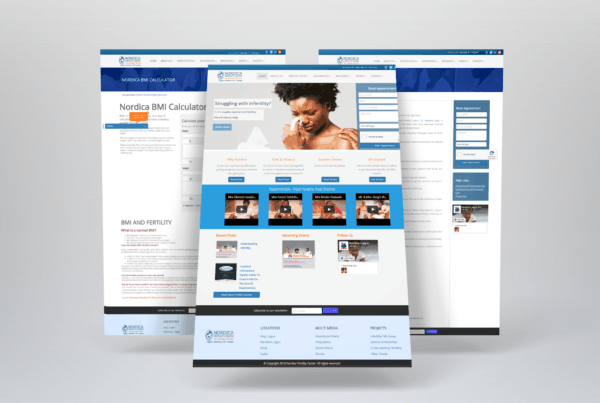 Wow effect communication - Nordica - portfolio - website